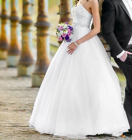 Suknia ślubna Justin Alexander 8724 rozm. 34 Strzelce Opolskie - image 2