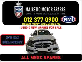 MERCEDES BENZ used spares and parts for sale Gauteng