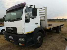 MAN M2000 LE 220 Flatbed Neat Original