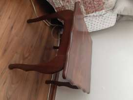 Imbuia side table for sale