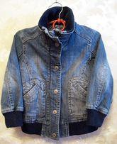 джинсовая куртка H&M 2-3 года