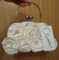 Новая свадебная сумочка клатч сумка весільна на подарок для невесты