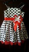 Нарядное платье в ретро стиле, для девочки.