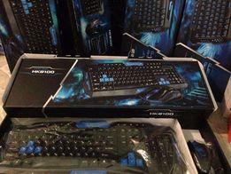 Акция!!!Игровые клавиатуры HK 8100 Русский текст+без проводная мышкой