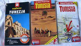 3 przewodniki po Tunezji z super mapą