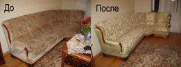 Перетяжка,ремонт мягкой мебели