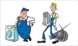 Ремонт телевизоров,LCD,Plasma,стиральных машин,СВЧ печей и др техники