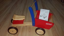Jeździk drewniany samochód ciężarówka PINTOY cargo truck!!!