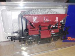 Wagon Roco PKP szutrarka H0 w oryginalnym pudełku nowy