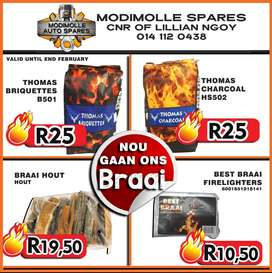 Fiery hot specials on your grill essentials at Modimolle Spares!