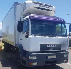 Man 8 ton refrigerated truck