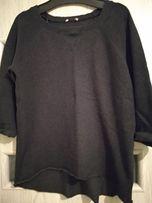 H&M grafitowa szara bluza oversize