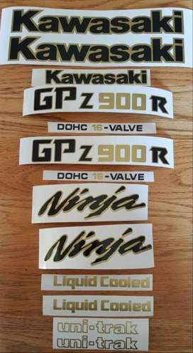 GPZ decals stickers graphics sets