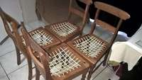 Image of Four Oregon Rimpie chairs