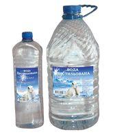 Дистиллированная вода в ПЭТ таре и на разлив 0,54 коп.