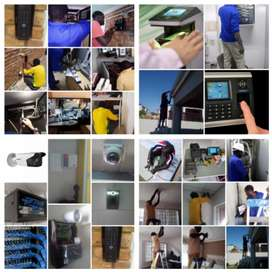 NETWORK CABLING AND CCTV CAMERA INSTALLATIONS-CAT5E, 6