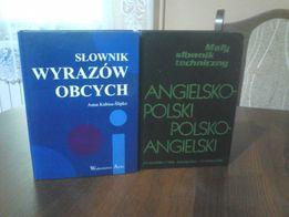 Słownik wyrazów obcych, Mały słownik techniczny ang -pol.