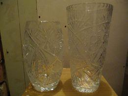 Piękne 2 wazony kryształowe, klasyki