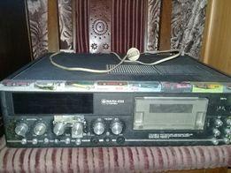 Кассетный магнитофон-приставка Маяк 233 с колонками только Луганск