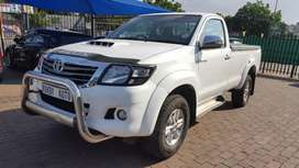 TOYOTA HILUX 3.0L D4D 4X4 SINGLE CAB 2015 MODEL