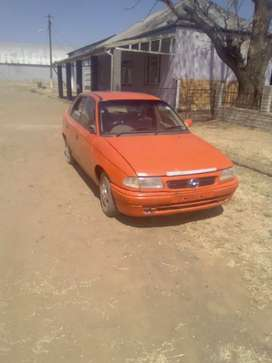 Opel Astra in running condition with updated papers and disc