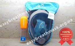 Распродажа! Маска для плавания TRIBORD® Easybreath (Subea), Франция