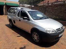 2007 opel corsa utility 1.4 with a canopy for sale