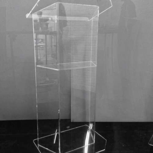 3 SIDED BODY WITH SHELF LECTERNS/ PODIUMS