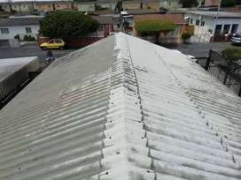 WE CLEAN DIRTY ROOFS
