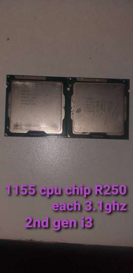 Cpu chips fore sale