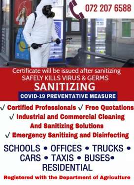 Pest Control and Sanitizing