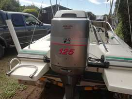 17 FT FANTACY SPEED BOAT WITH 125 MARINER