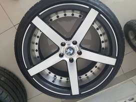 "19"" Bnw Mags with Tyres for sale"