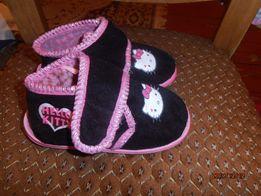 детские тапочки хелло китти Hello Kitty