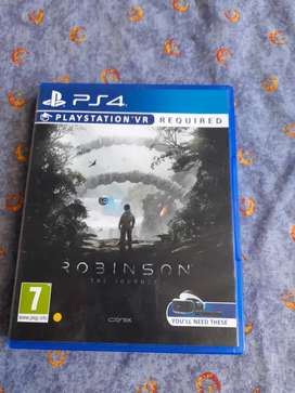 Robinson ps4 vr game