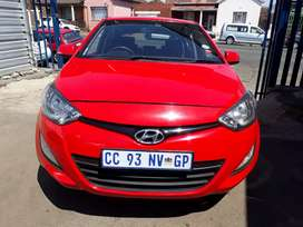 2012 Hyundai i20 (1.6) Manual With Service Book