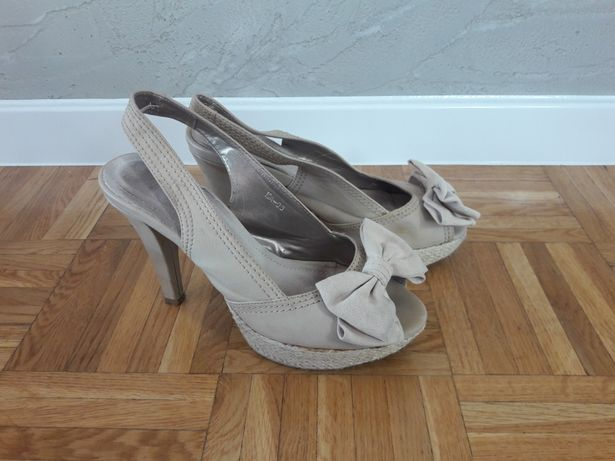 Sandały koturny buty Koluszki - image 3