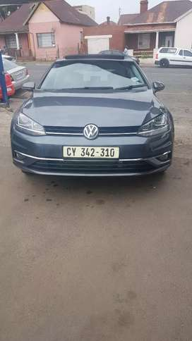 Vw golf 7 1.4 TSI service book and sunroof