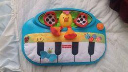 Мягкое пианино Fisher price