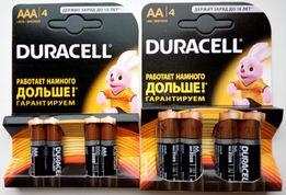 Батарейки Duracell AAA и АА