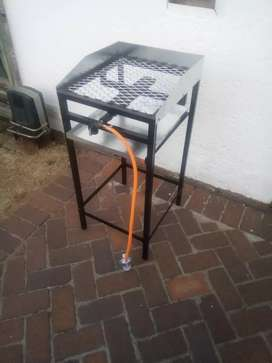 Meat griller + stand