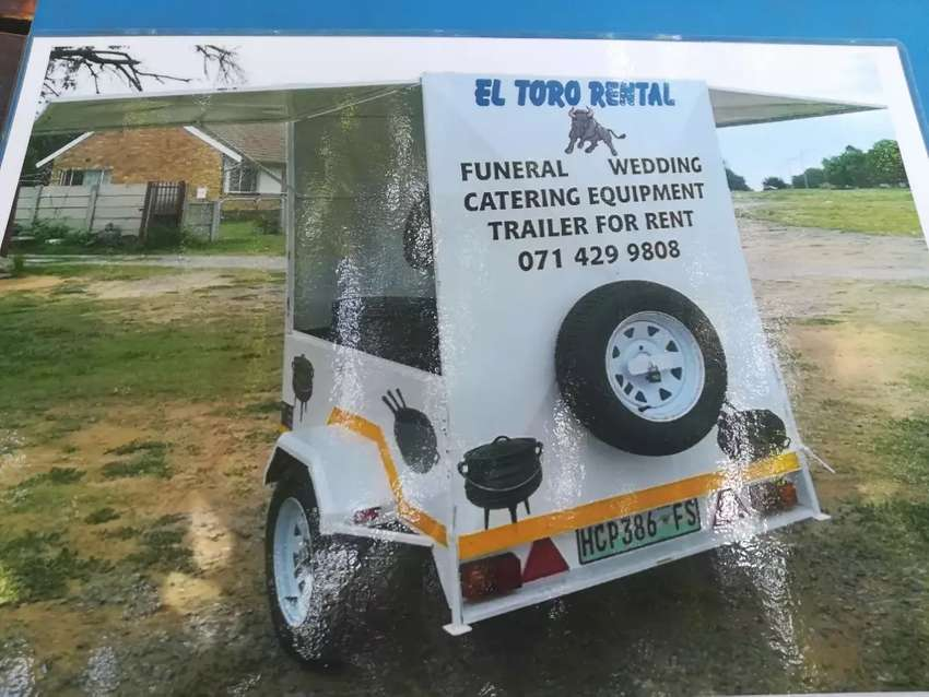 Funeral Catering Trailer 0