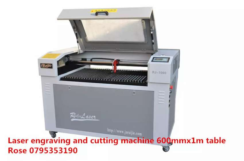 1mx 600mm moving table laser engraver machine