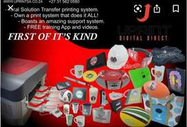 A4 printer. Print on any survice, no need for sublimation items
