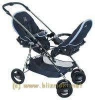Wózek Bebe Confort Twin Club dla bliźniaków lub rok po roku