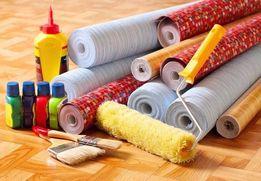 Шпаклевка,гипс,обои,краска,плитка-выполняем все отделочные работы