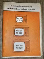 Instrukcje odbiorników telewizyjnych Helios TC 400, TC 500, TC 700,