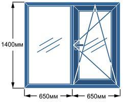 Окна из четырех камерного профиля Open Teck, гарантия 10 лет