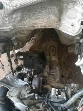 Audi A5 Engine and Gear box
