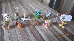 Комплект 5 шт. игрушки из киндер-сюрприза животные